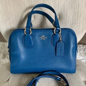 Coach purse - Sea blue